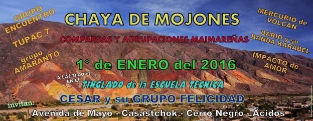 Chaya de mojones en Maimará