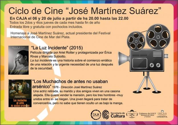 Ciclo de Cine 20 de julio