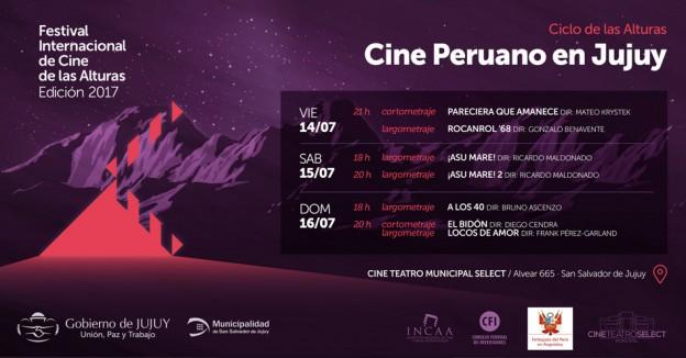 Ciclo de Cine Peruano en Jujuy