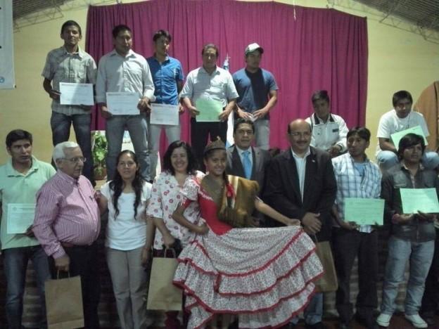 Colación de Capacitación Laboral en la localidad de Lozano (2)