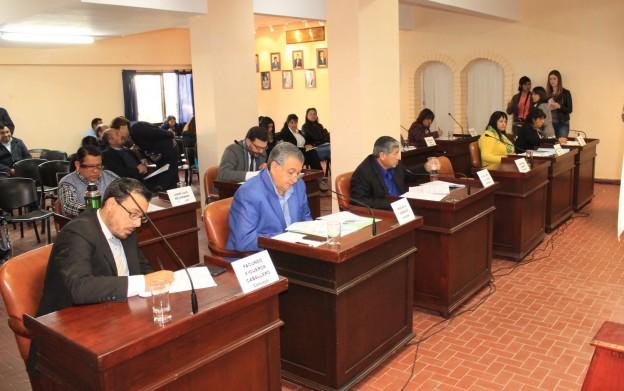 Concejales aprobaron importantes ordenanzas en la sesión de hoy (1)