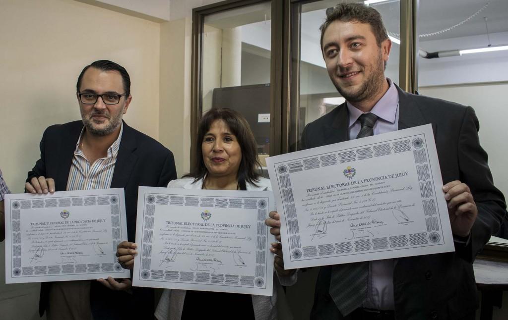 Concejales electos UCR1