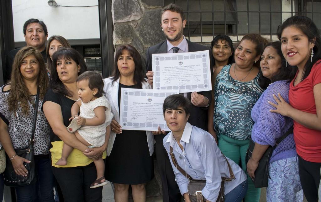 Concejales electos UCR7