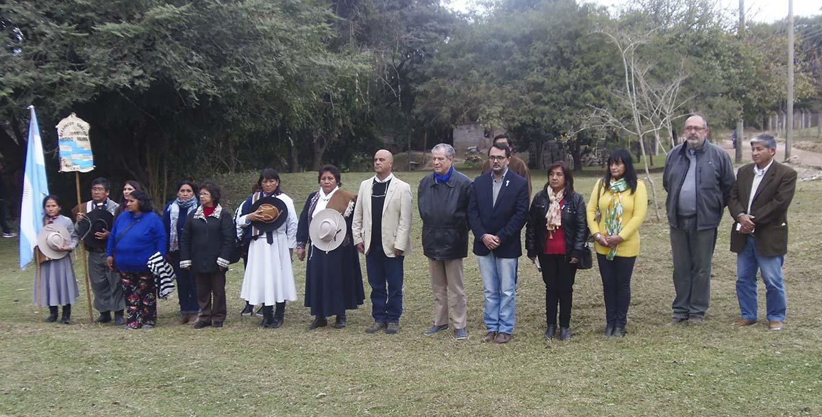 Concejales, gauchos y vecinos conmemoraron el Bicentenario del Combate de los Altos de la Viña