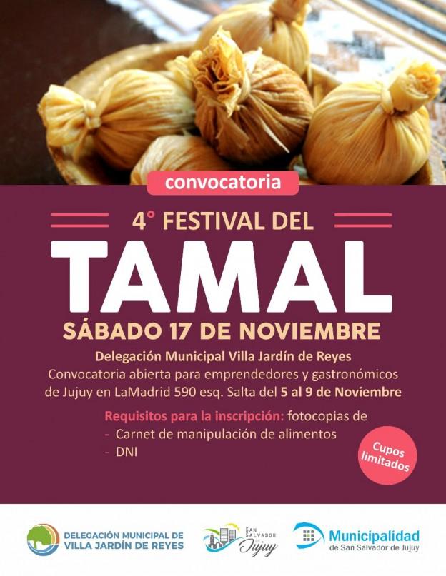 Convocatoria al Festival del Tamal