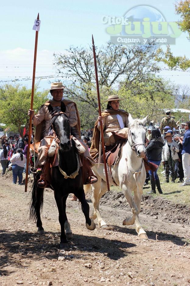 Desfile Gaucho Fiesta Patronal en paños 2017-2