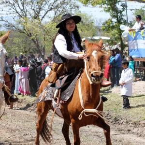 Desfile Gaucho Fiesta Patronal en paños 2017