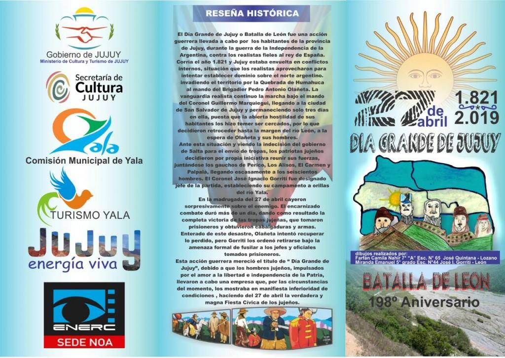 Dia Grande de Jujuy - Programa de actividades (2)