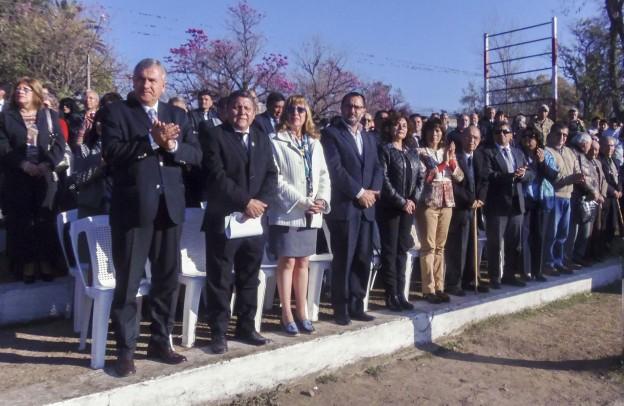Ediles participaron de la celebración de los 100 años de la EET N° 1