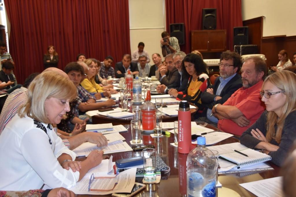 EL MINISTRO DE SALUD SE REUNIÓ NUEVAMENTE CON LEGISLADORES DE DISTINTAS BANCADAS