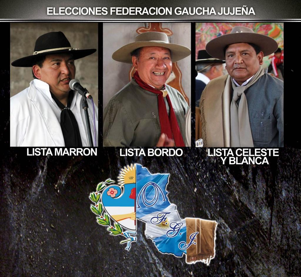 ELECCIONES FEDERACION GAUCHA JUJEÑA