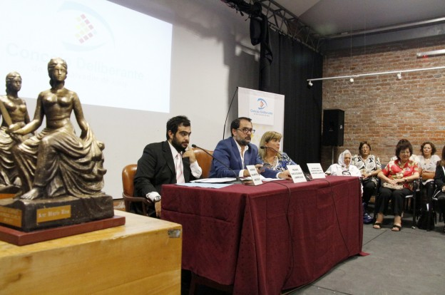 Ediles homenajearon a mujeres jujeñas destacadas