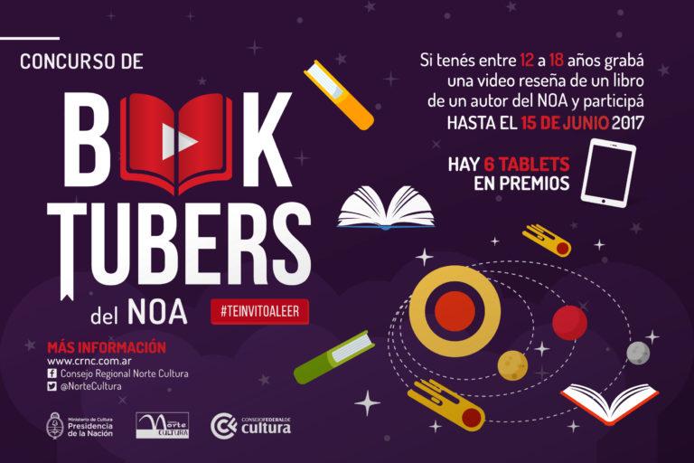El 1º Concurso Regional de Booktubers