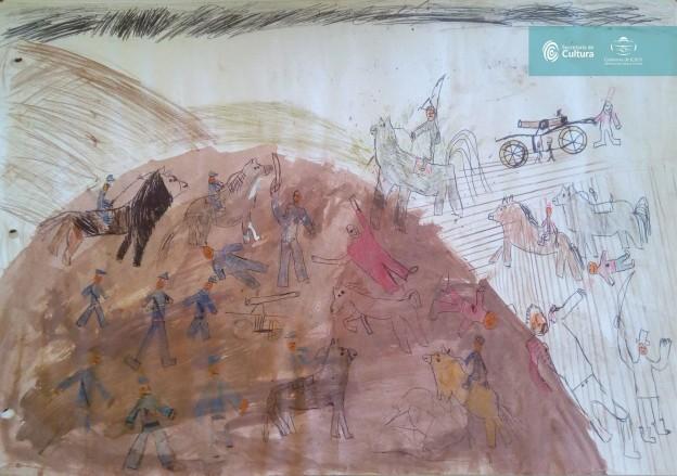El concurso de dibujo – los 200 años de la Batalla de Humahuaca 2