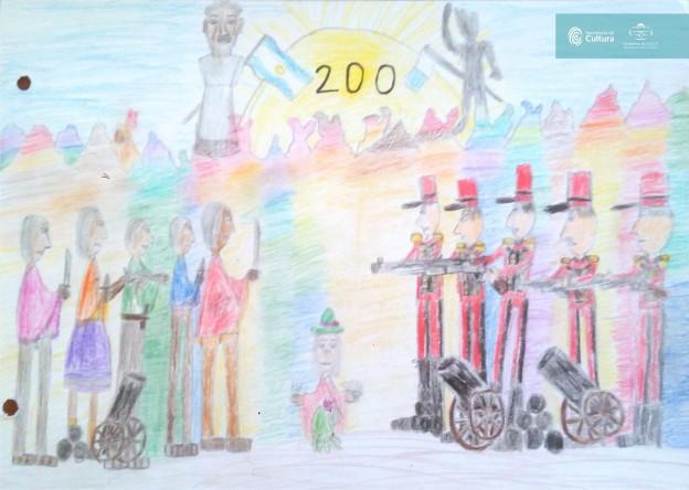 El concurso de dibujo – los 200 años de la Batalla de Humahuaca 5