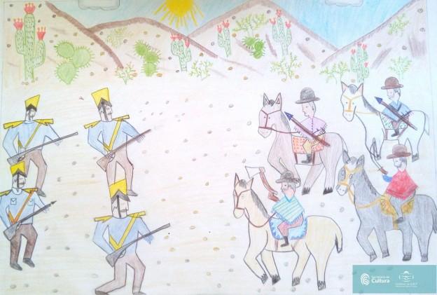 El concurso de dibujo – los 200 años de la Batalla de Humahuaca 7