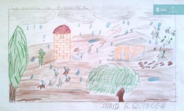 El concurso de dibujo – los 200 años de la Batalla de Humahuaca 8
