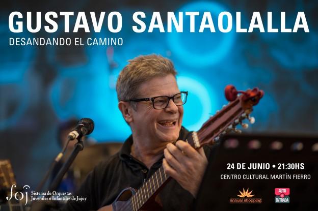 """El sábado 24 de Junio en el Centro Cultural """"Martín Fierro"""" Gustavo Santaolalla presenta """"Desandando el camino"""""""