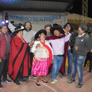 El tradicional jueves de comadres se celebró a pleno en El Aguilar (6)