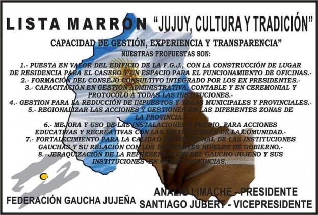Elecciones en la Federación Gaucha Jujeña 2