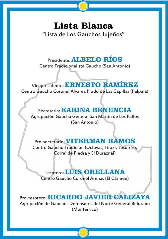 Elecciones en la Federación Gaucha Jujeña 3
