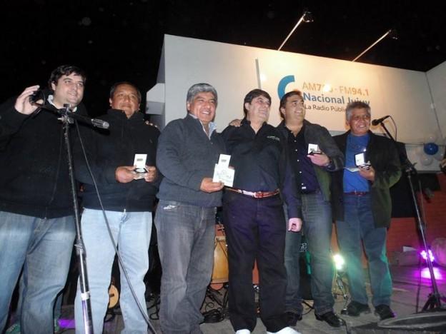 Emotiva Serenata se vivió en Radio Nacional Jujuy (2)