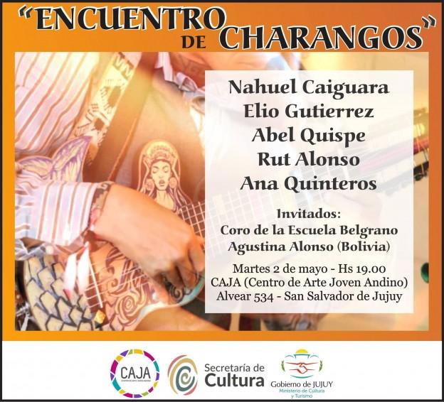 Encuentro de Charangos en el CAJA