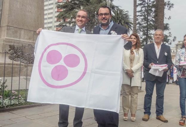 Entrega de Bandera de la Paz1
