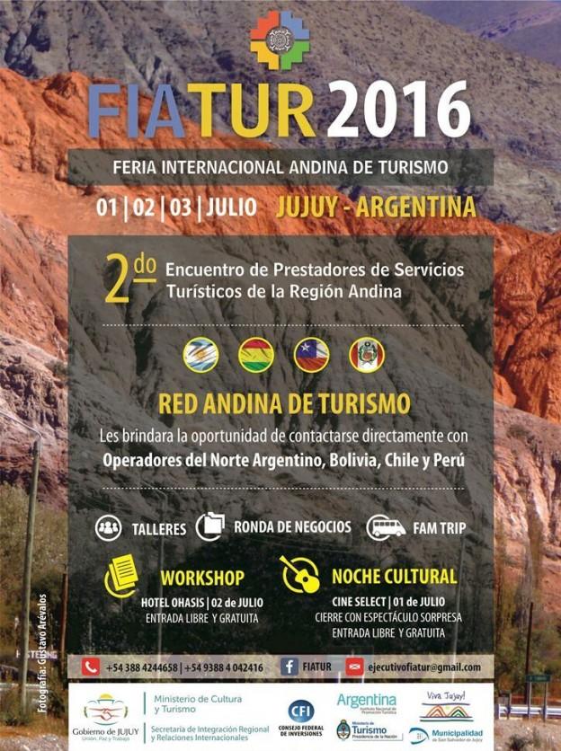 FERIA INTERNACIONAL ANDINA DE TURISMO 2016