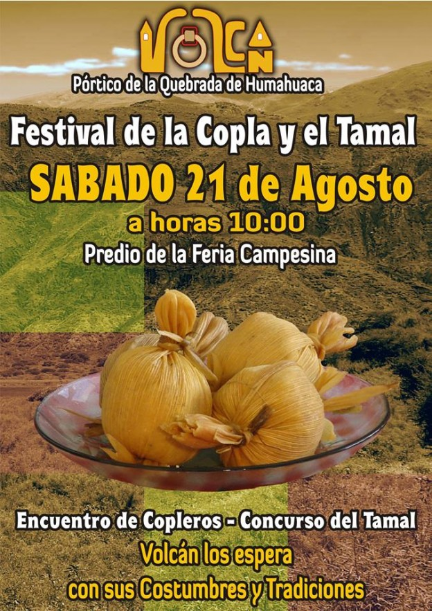 FESTIVAL DE LA COPLA Y EL TAMAL EN VOLCÁN