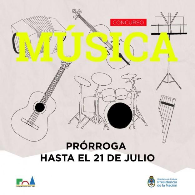 FNARTES musica 21 de julio