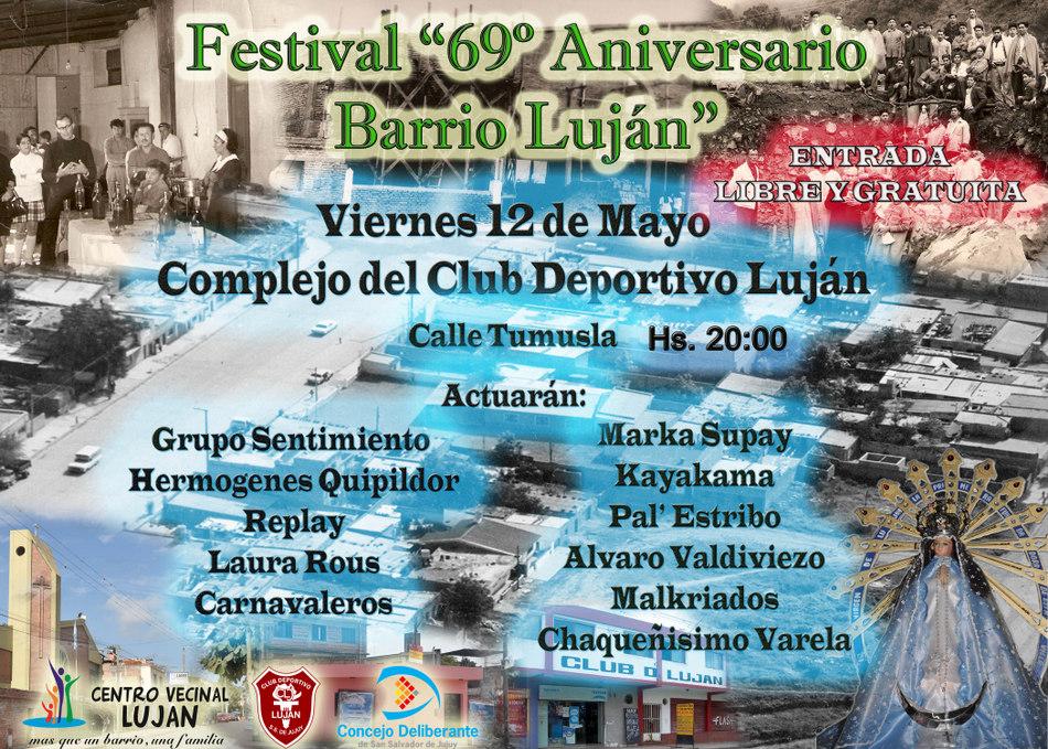 Festival Aniversario Lujan
