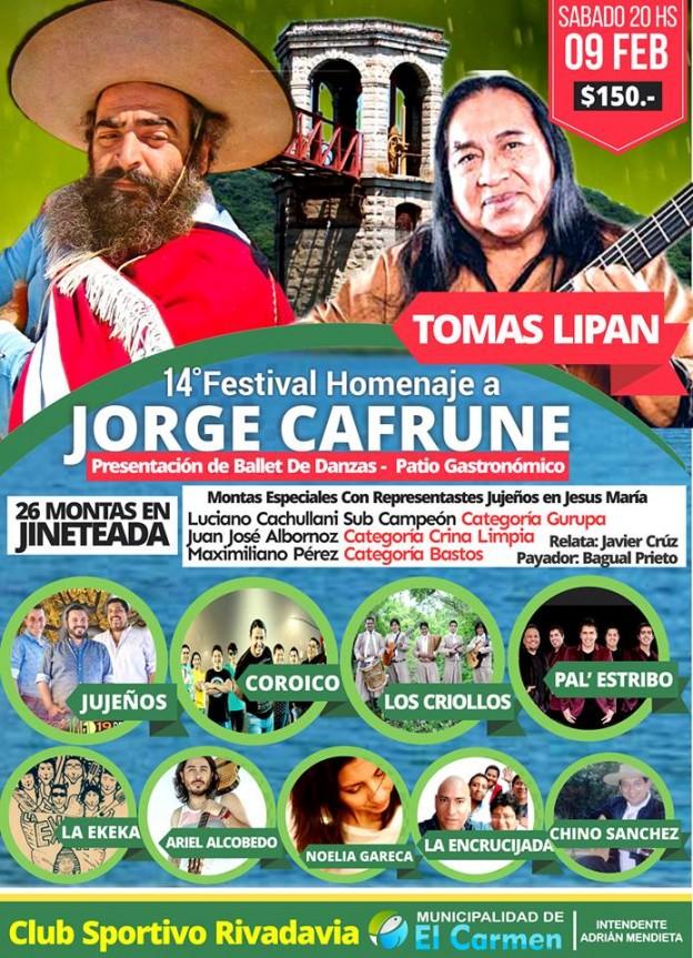 Festival Homenaje a Jorge Cafrune