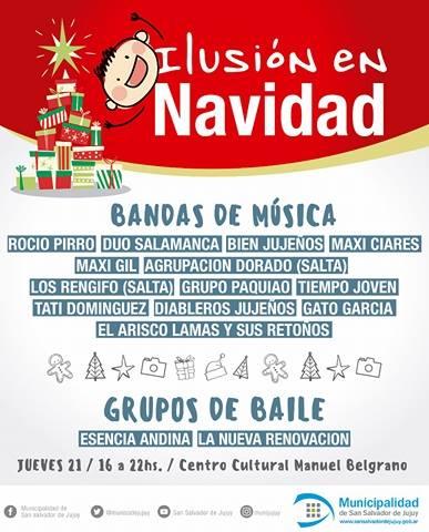 """Festival Solidario """"Ilusión en Navidad"""" 2"""