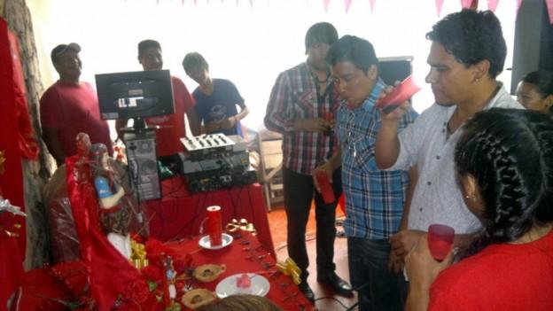 Fiesta del Gauchito Gil en Termas de Reyes