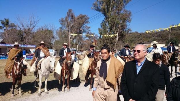 Fiestas patronales en Yala