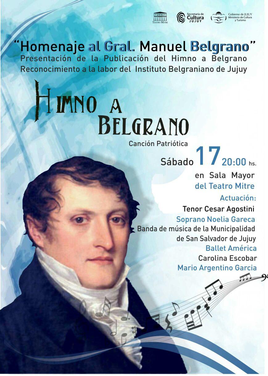 Homenaje a MANUEL BELGRANO_17 de junio Teatro Mitre