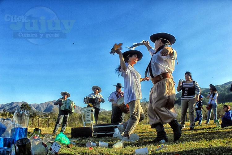 Homenaje a la Pachamama Agrupación Gaucha Gral San Martin de los Paños