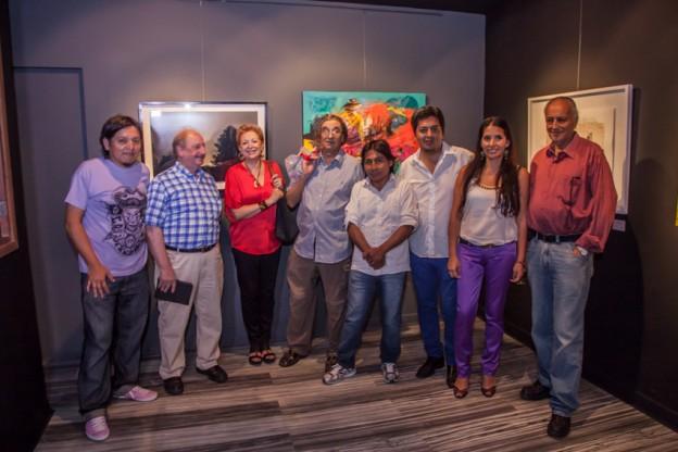 """INAUGURARON """"TRAYECTOS"""" MUESTRA DE ARTISTAS NACIONALES E INTERNACIONALES EN """"CUARTOMUNDO"""" (2)"""