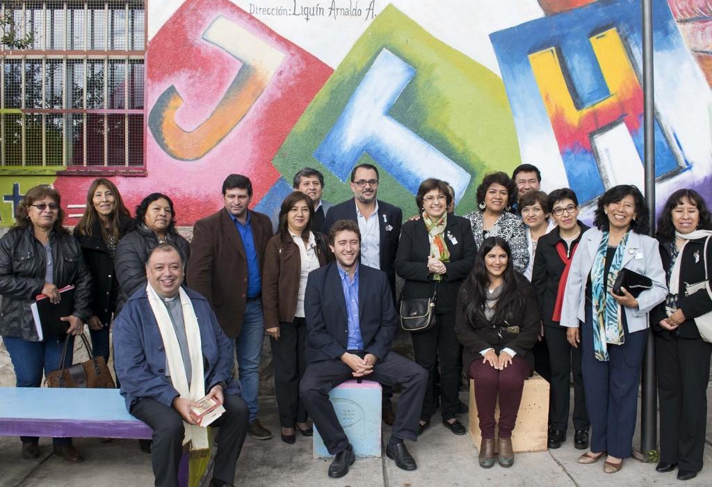 Inauguración Mural1