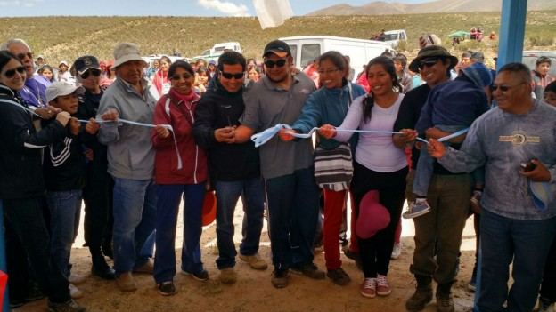 Inauguración de Quincho en El Aguilar – Fiesta Patronal