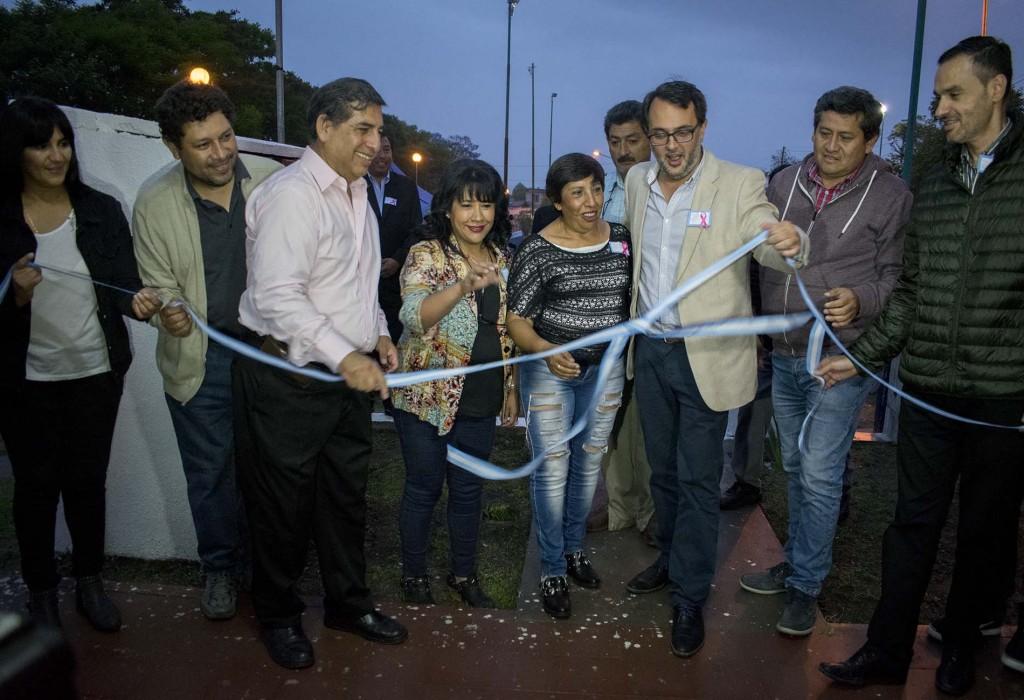Inauguración sede Centro Vecinal