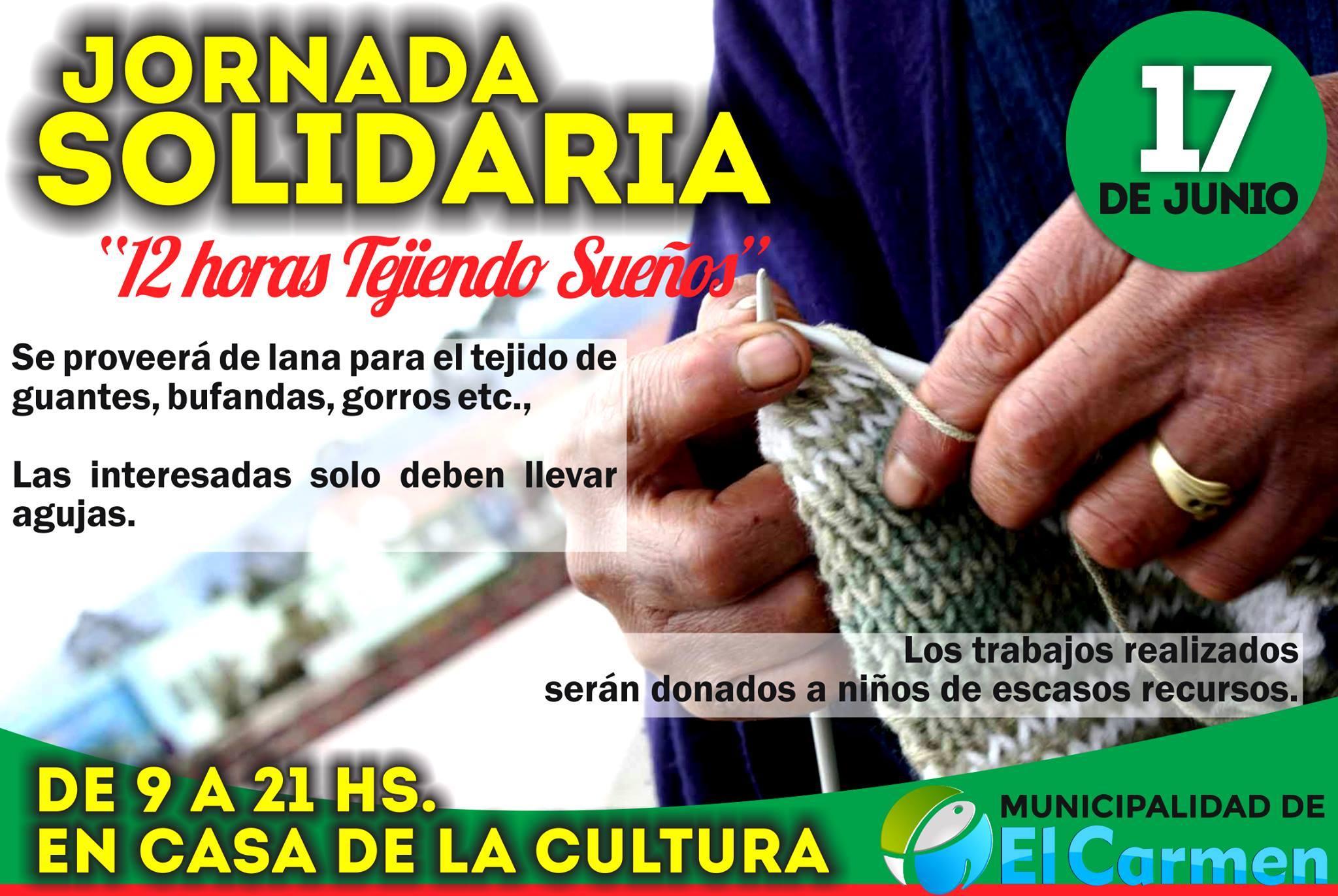JORNADA SOLIDARIA EN EL CARMEN