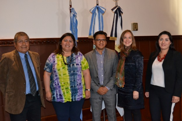 LA COMISIÓN DE PUEBLOS INDÍGENAS RECIBIÓ AL DELEGADO DE LA INDIAN LAW – RESOURCE CENTER (2)