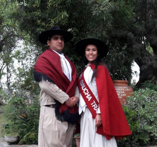La nueva Dama Gaucha Tradicional Salteña 2016-2017 MARÍA JOSÉ HERNÁNDEZ ELIAS