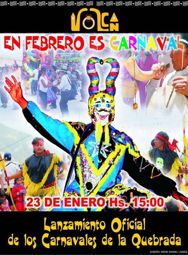 Lanzamiento Oficial de los Carnavales de la Quebrada