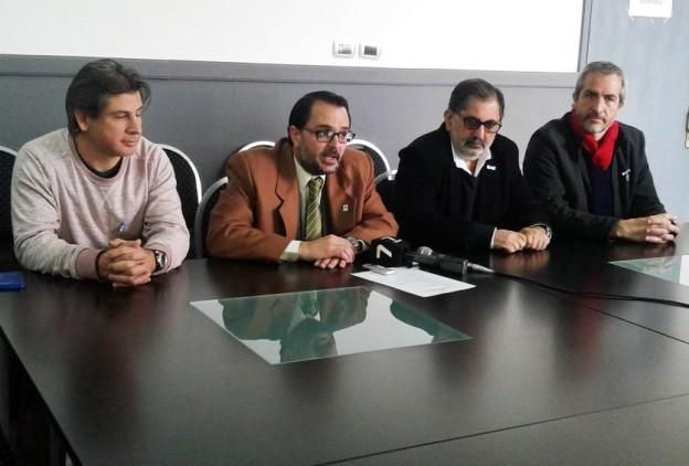 Lisandro Aguiar en Conf. de prensa bicentenario