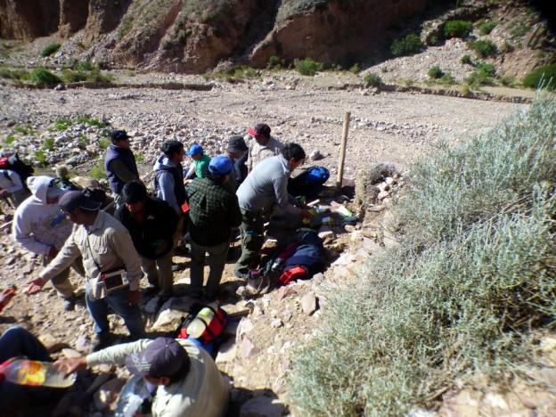 MANTENIMIENTO EN EL CAMINO HACIA EL ABRA DE PUNTA CORRAL
