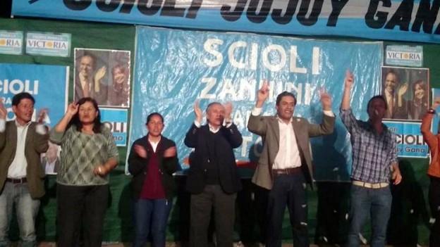 MASIVA PRESENCIA DEL PUEBLO ACOMPAÑANDO AL COMISIONADO MUNICIPAL DE YALA