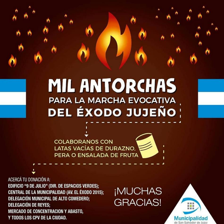 MIL ANTORCHAS